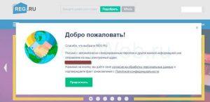 Как зарегистрировать домен на примере reg.ru
