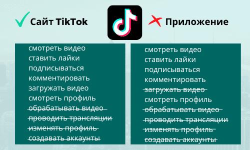 Как использовать ТикТок на компьютере