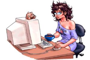 Удаленная работа в интернете - преимущества для женщины